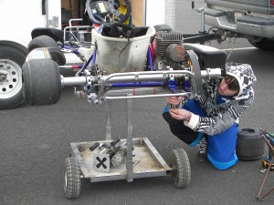 racing kart adjustment